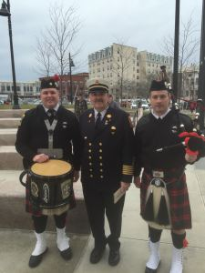 Bridgewater Firefighters Participate in Strand Theater Memorial Ceremony