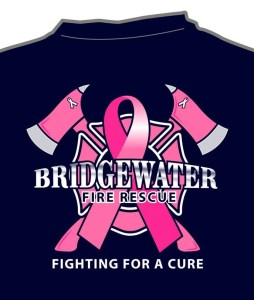 Bridgewater Firefighters Announce T-shirt Fundraiser for Breast Cancer Awareness