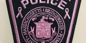 Photo: Bridgewater Police Department to Sell Pink Patches to Raise Money for Breast Cancer Research