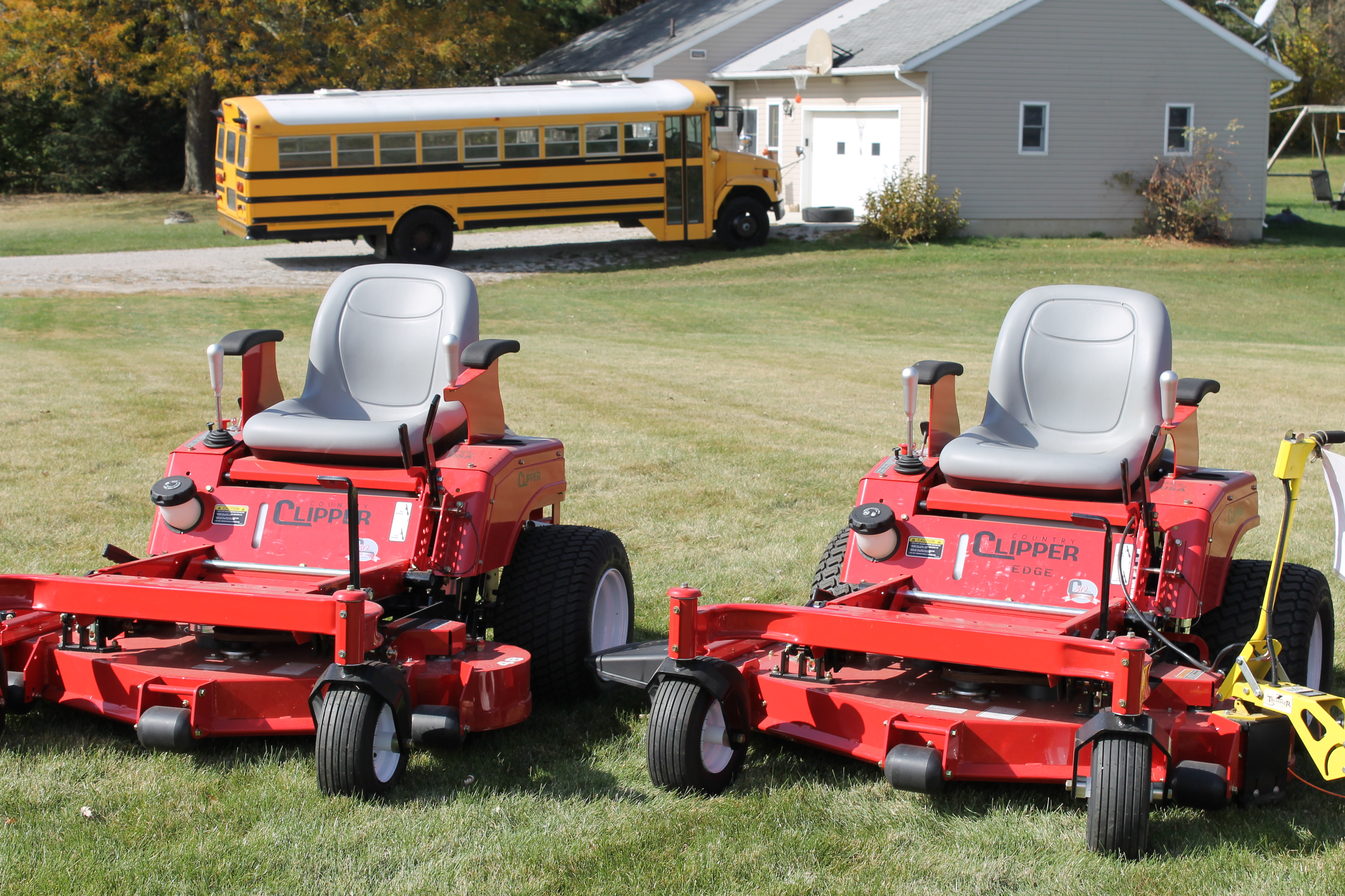 Country clipper Mowers Owners manual