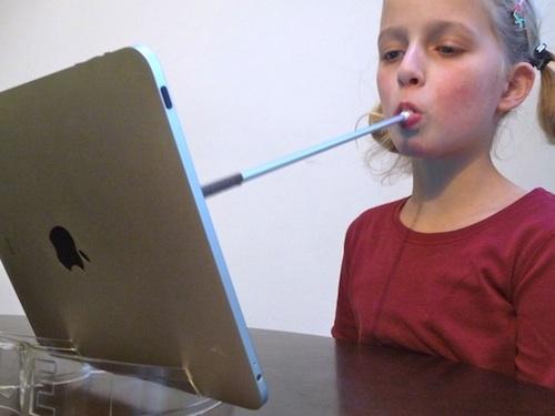 iPad Mouthstick Stylus  BridgingApps