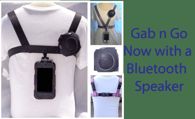 Gab n Go Harness with Bluetooth Speaker  BridgingApps