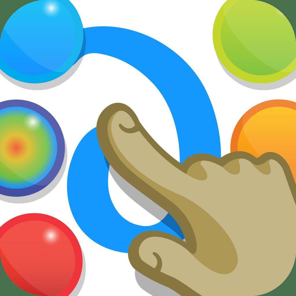 BridgingApps Reviewed App  Finger Paint With Sounds