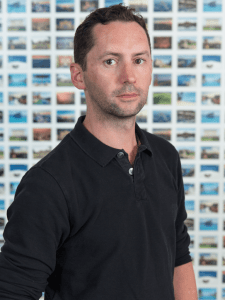 Gareth Griffiths - property partner VP Marketing