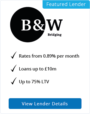 Black & White Bridging featured lender