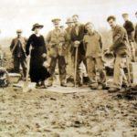 1st WW Friends War Victim Relief team at work behind the lines