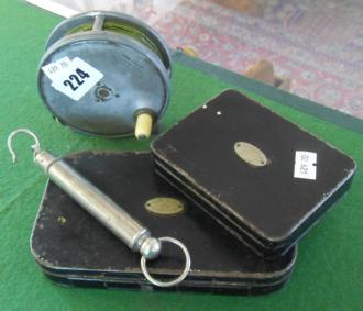 Hardy Fishing Reel and Flies