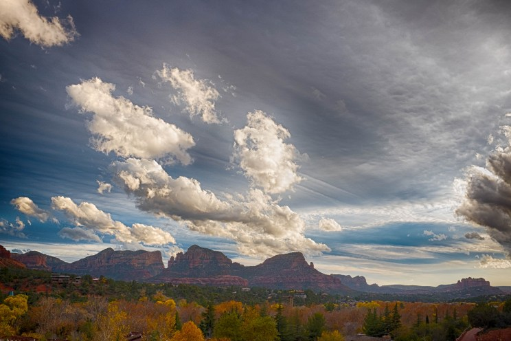 Red Rocks from Downtown Sedona