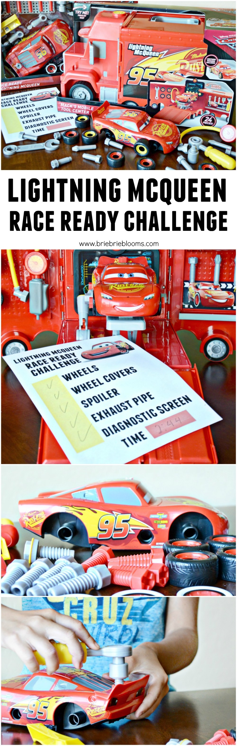 medium resolution of see how quickly you can get lightning mcqueen race ready with a free printable lightning mcqueen
