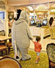 Disneyland Character Dining Plaza Inn Eeyore Breakfast