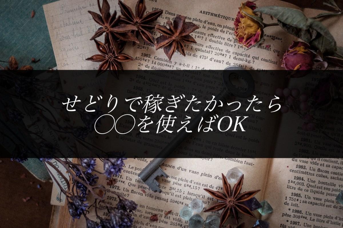 店舗せどりで月利10万円を超えたら〇〇を使え!