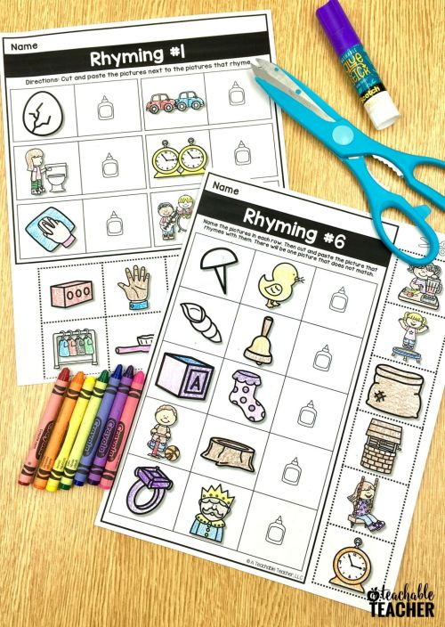 small resolution of 1st Grade Phonemic Awareness Worksheets   Printable Worksheets and  Activities for Teachers
