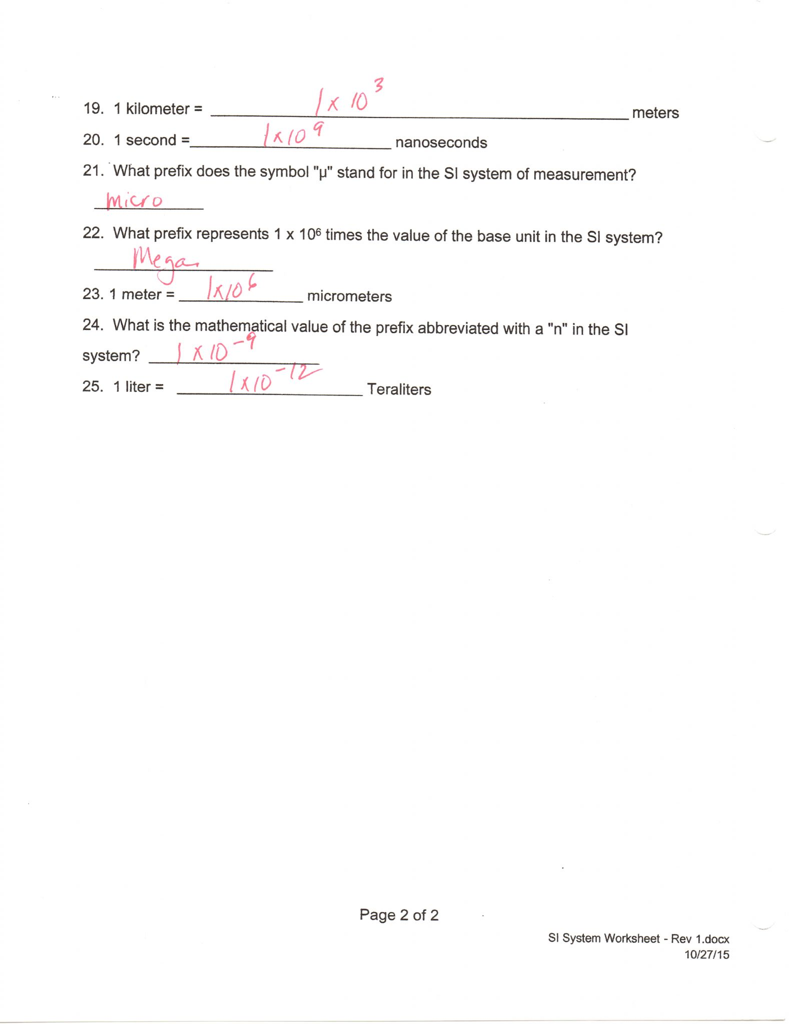 2 4 Chemical Reactions Worksheet Answers