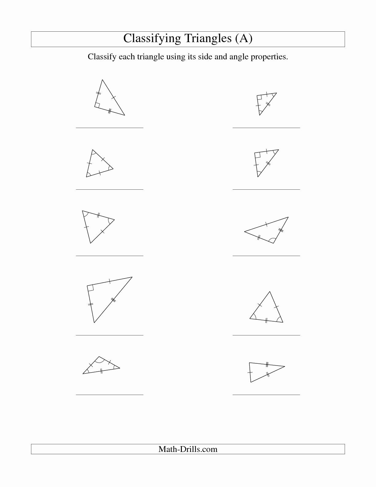 Worksheet Triangle Sum And Exterior Angle Theorem Key