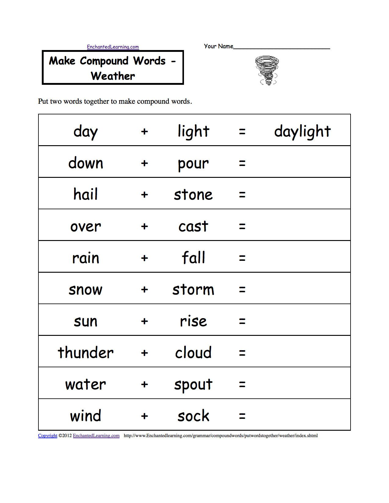 2nd Grade Grammar Worksheets