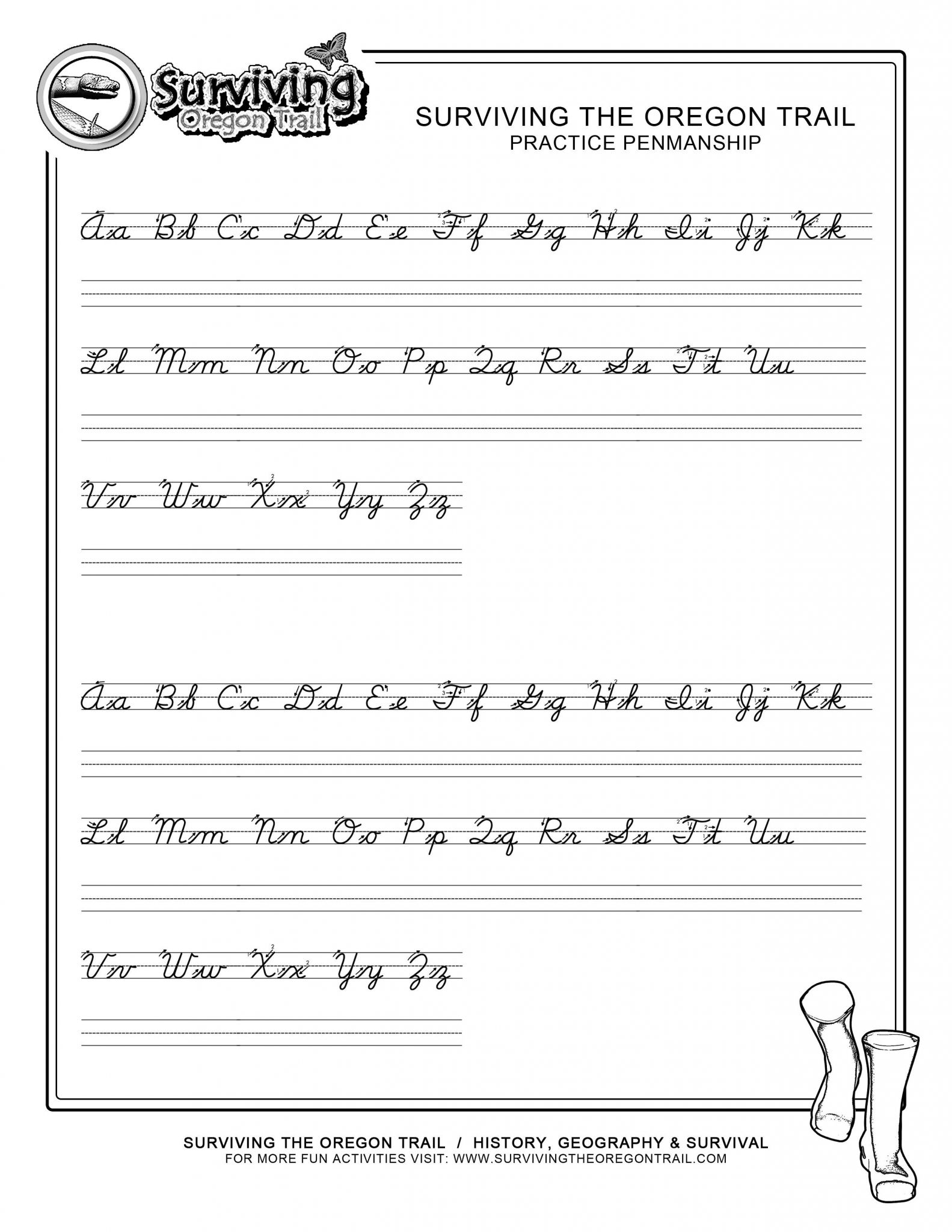3rd Grade Handwriting Worksheets