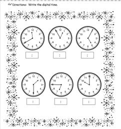 Telling Time Worksheet For Grade 3   Printable Worksheets and Activities  for Teachers [ 1650 x 1275 Pixel ]