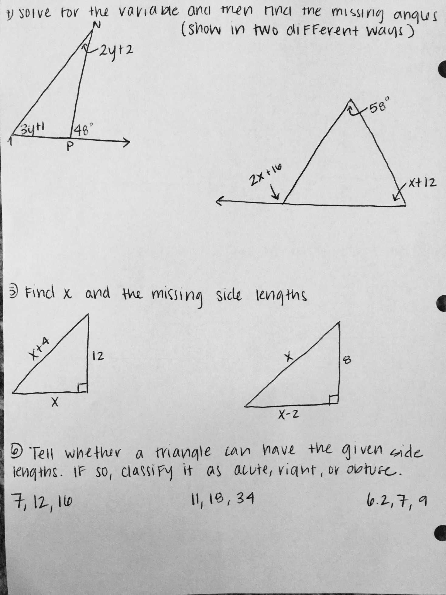 hight resolution of Congruence And Triangles Worksheets   Printable Worksheets and Activities  for Teachers