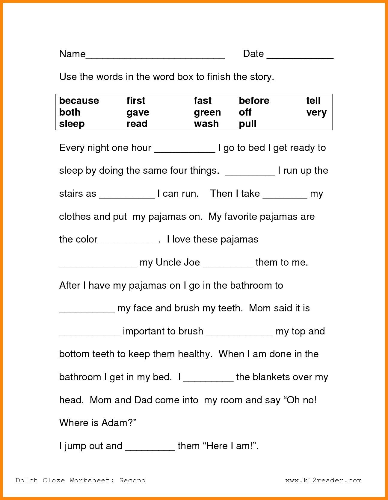 - 4th Grade Reading Prehension Worksheet Printable Worksheets And