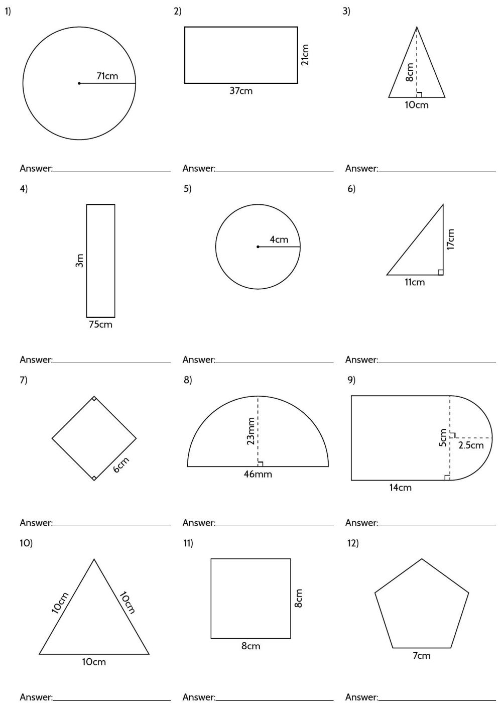 medium resolution of Geomery Volume 6th Grade Worksheets   Printable Worksheets and Activities  for Teachers