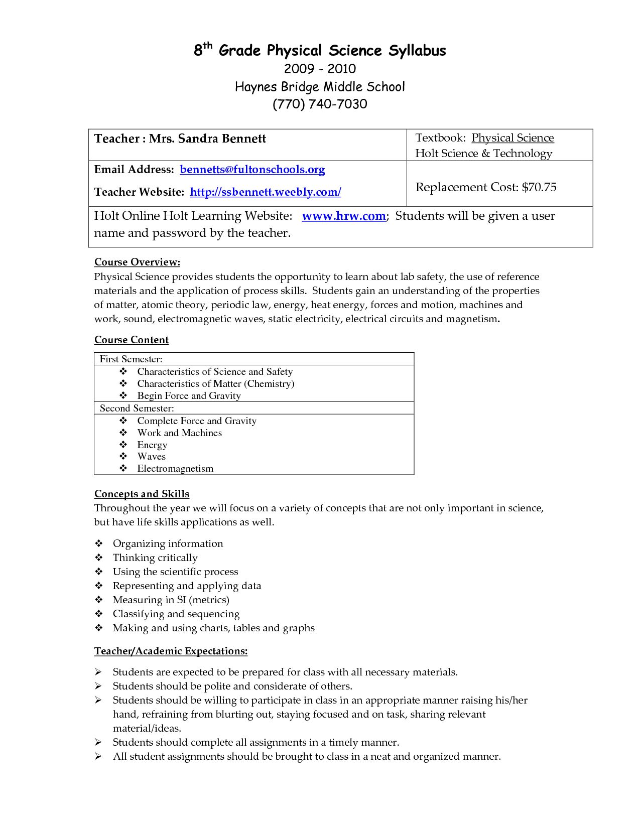 6th Grade Science Worksheets With Answer Key