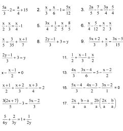 7th Grade Algebraic Equations Worksheets   Printable Worksheets and  Activities for Teachers [ 1787 x 2113 Pixel ]