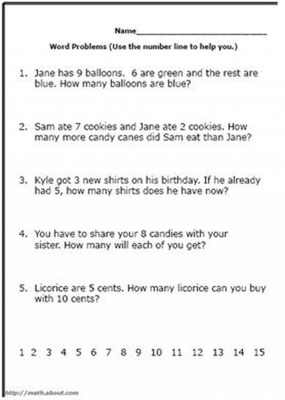 medium resolution of Math Word Problem Worksheets 7th Grade   Printable Worksheets and  Activities for Teachers