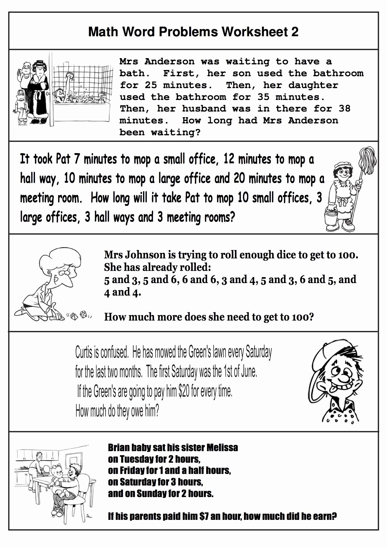 4th Step Worksheet Workbook