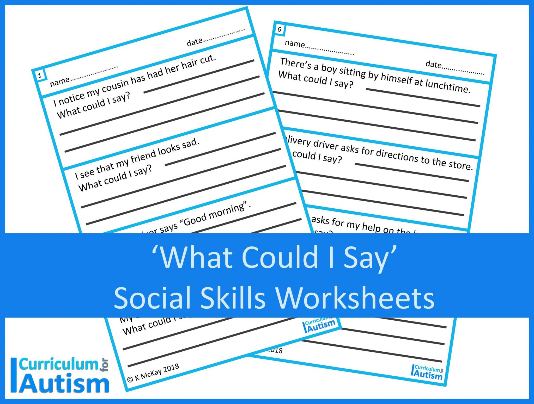 Aba Therapy Worksheets