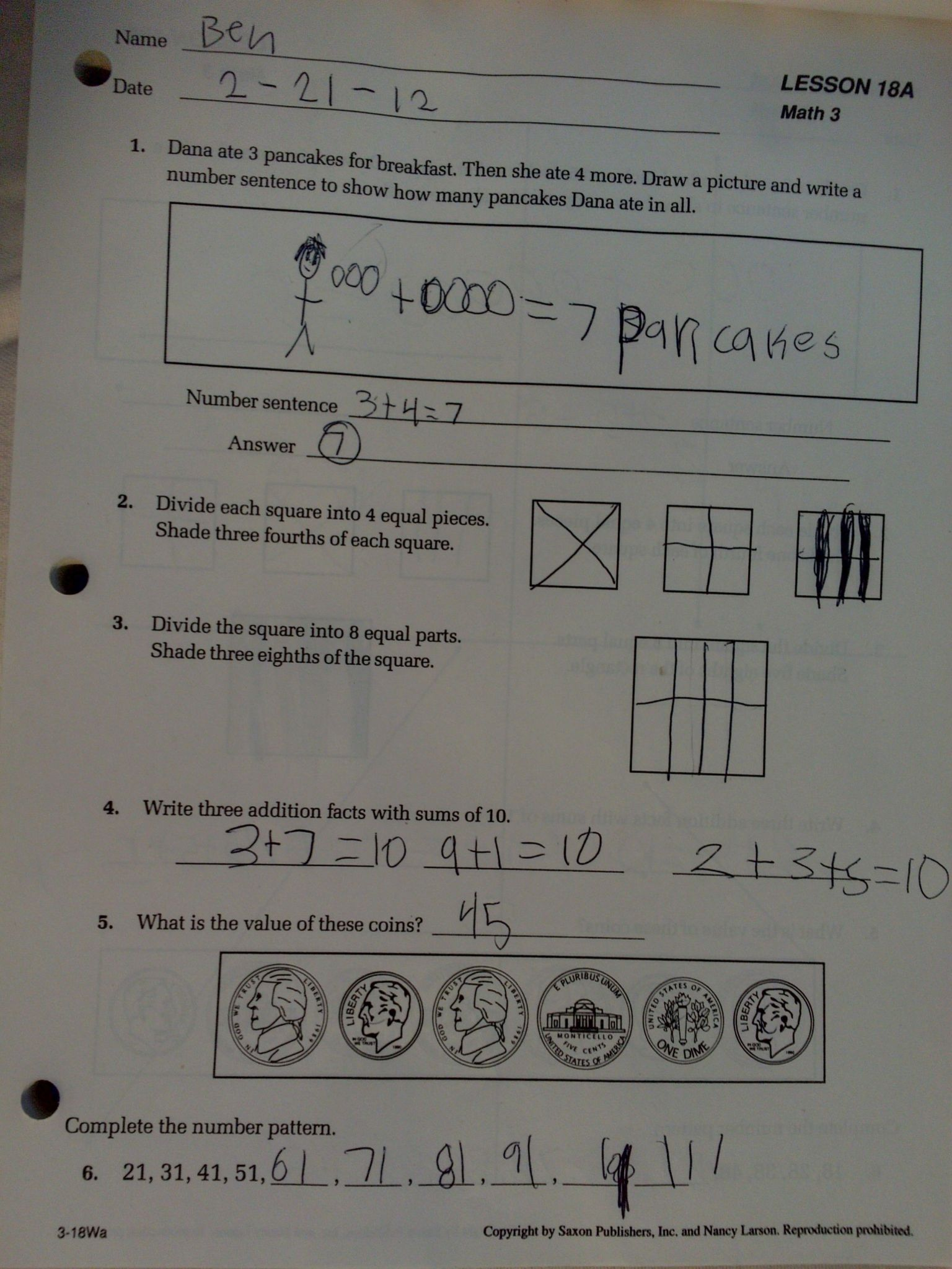 Algebra With Pizzazz Worksheet Answers