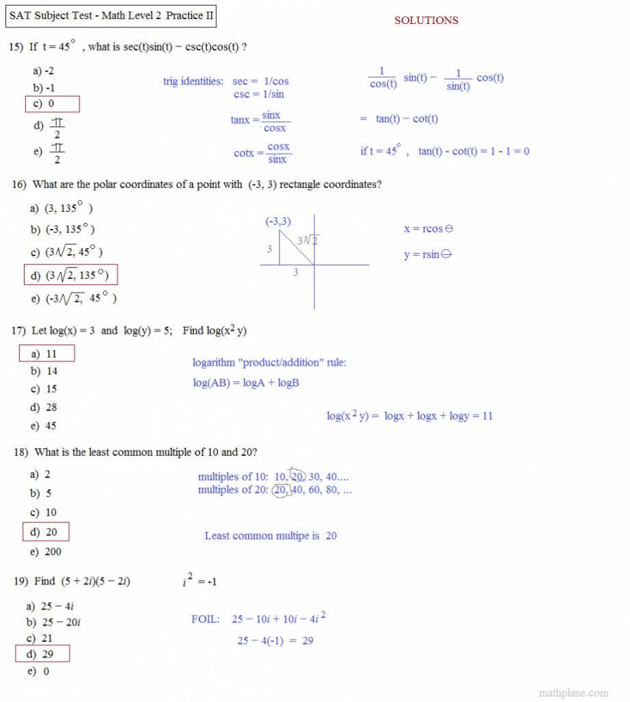 hight resolution of Angle Of Elevation And Depression Trig Worksheet Answers -  Promotiontablecovers