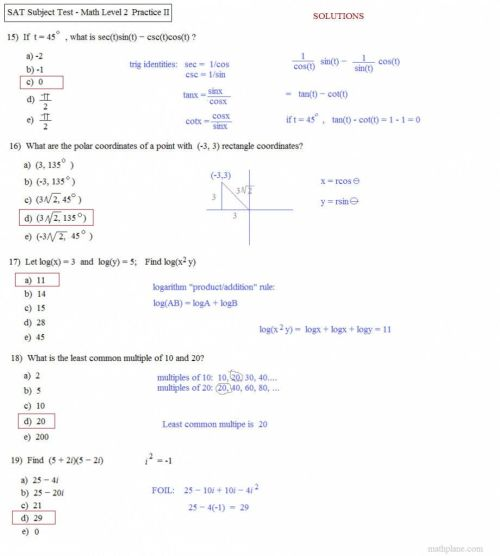 small resolution of Angle Of Elevation And Depression Trig Worksheet Answers -  Promotiontablecovers