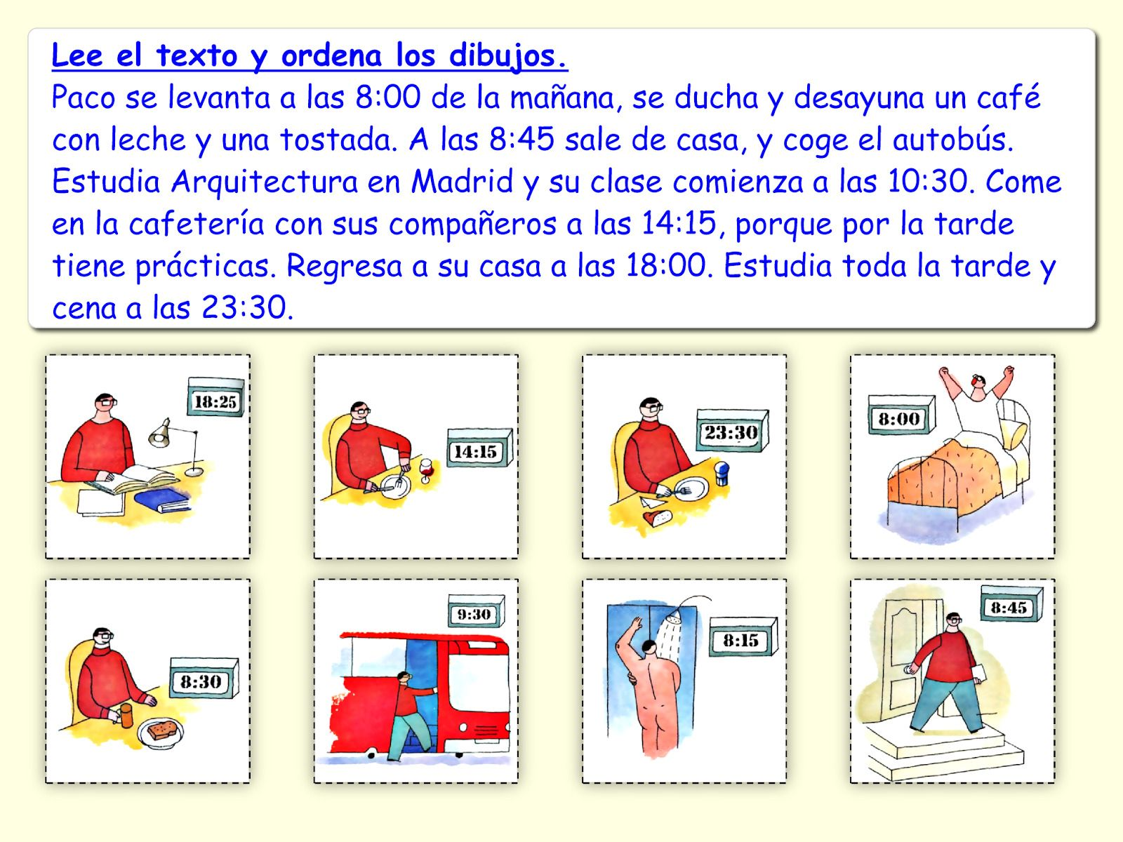 Basic English For Spanish Speakers Worksheets