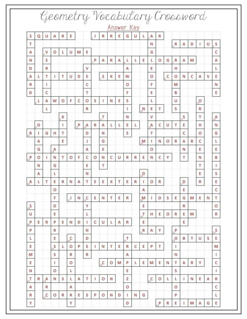 small resolution of Basic Geometry Terms Worksheet   Printable Worksheets and Activities for  Teachers
