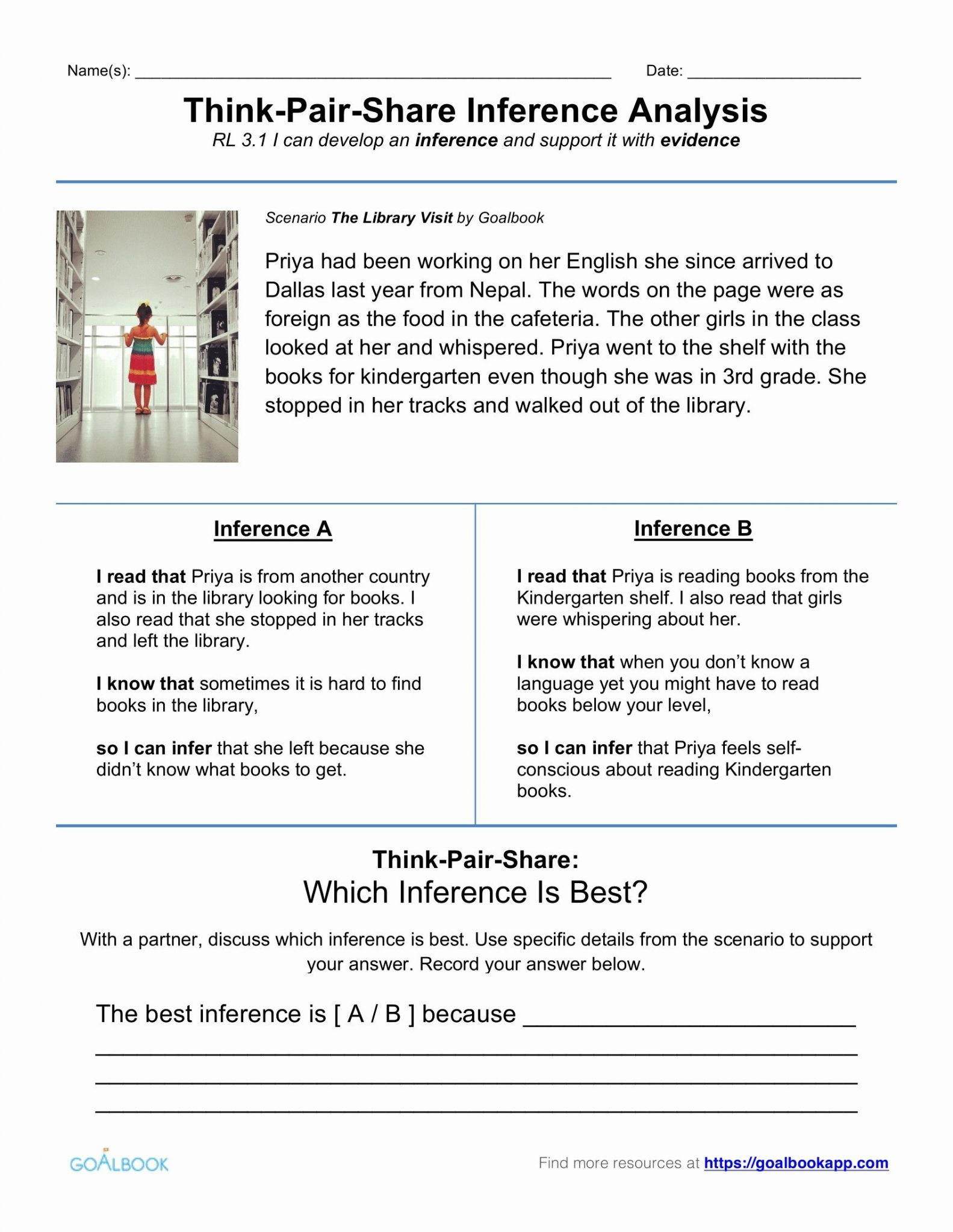 Beginning Reading Worksheets