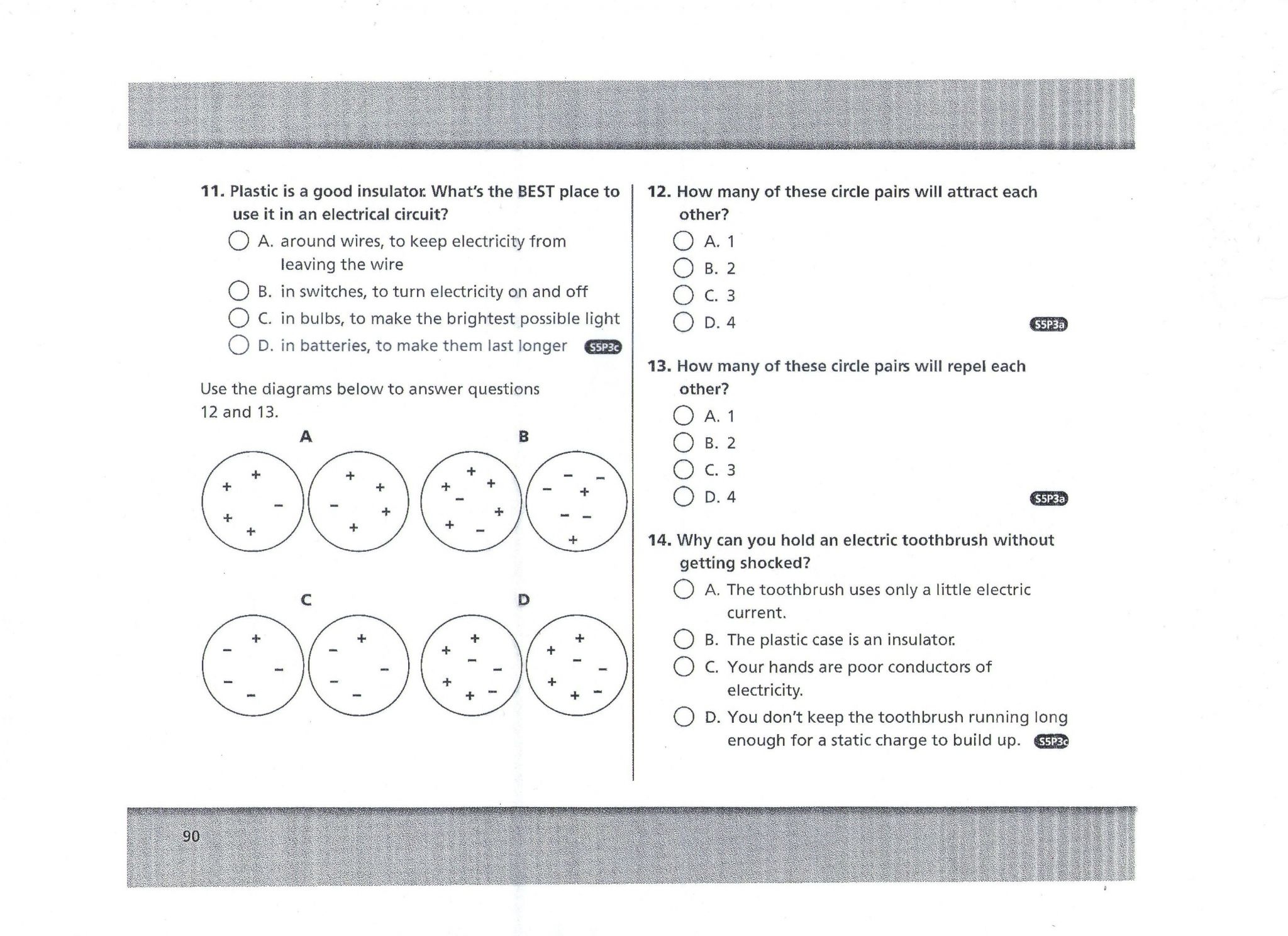 Magnetism Worksheet Glencoe