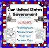 This resource is a government social stu s unit that includes 11 worksheets a review sheet