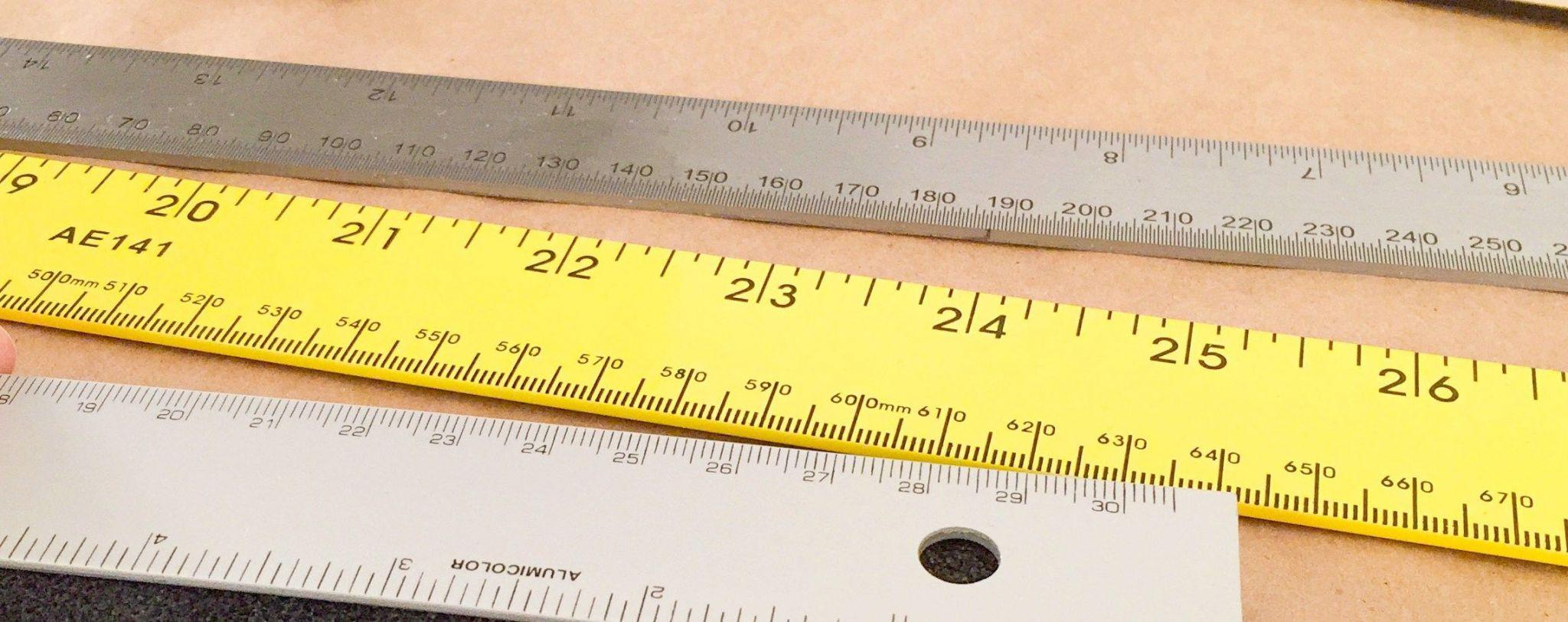 Blank Tape Measure Worksheet