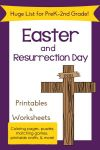 Easter Printables Round Up Christian themed and Bunnies Eggs
