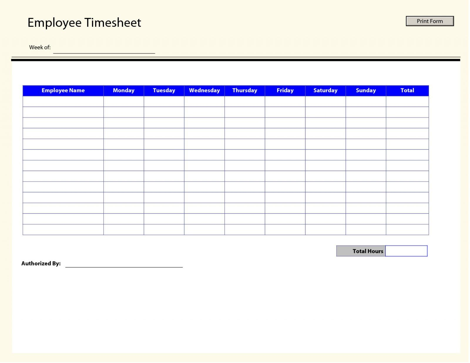 Calculating Overtime Pay Worksheet