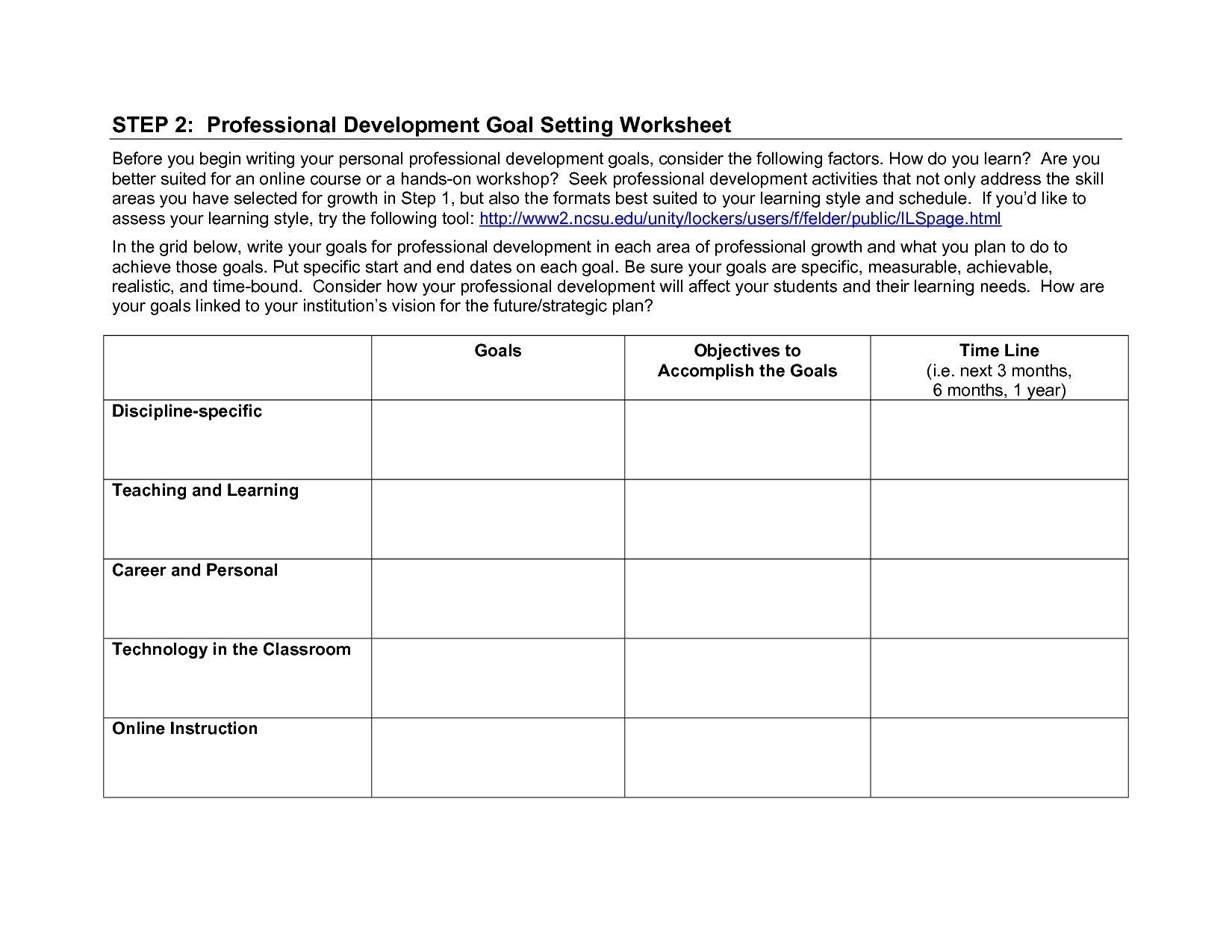 Career Planning For High School Students Worksheet