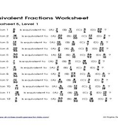 Equivalent Fractions Worksheets 2nd Grade   Printable Worksheets and  Activities for Teachers [ 768 x 1024 Pixel ]