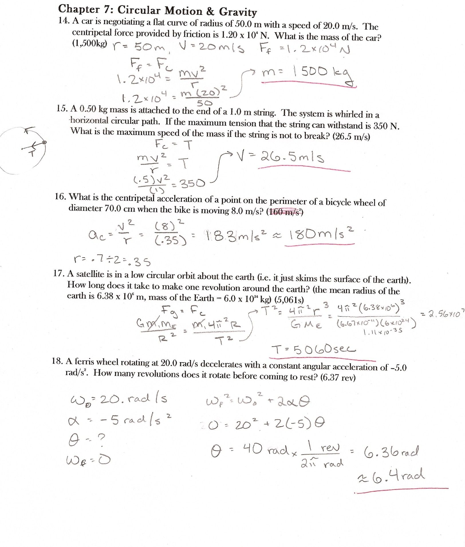 6 1 Chemical Equations Worksheet Answers