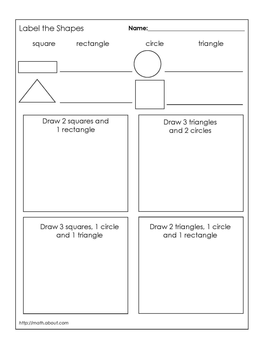 medium resolution of Symmetry Of Quadrilaterals Worksheets   Printable Worksheets and Activities  for Teachers