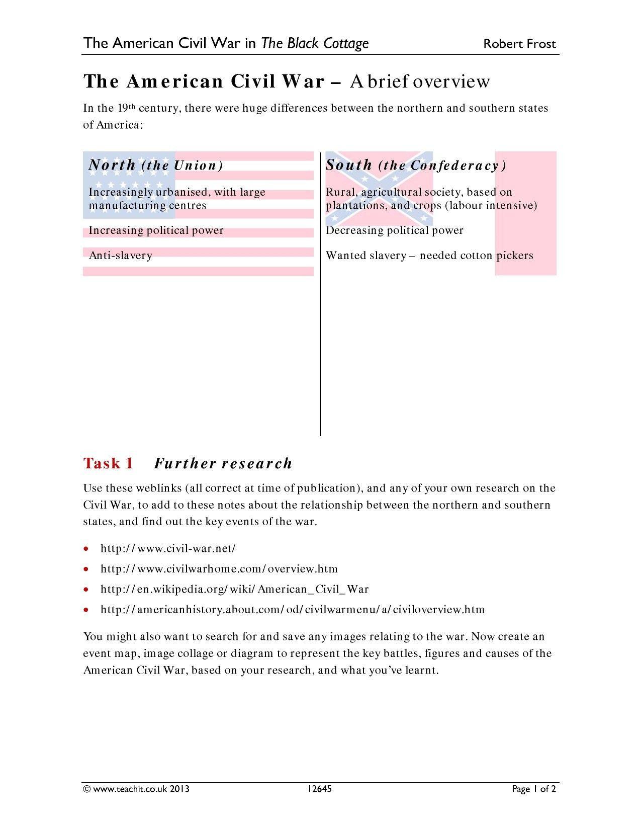 hight resolution of Civil War Vocabulary Worksheet - Nidecmege
