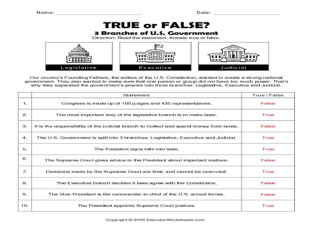 Congress Scavenger Hunt Worksheet Answers