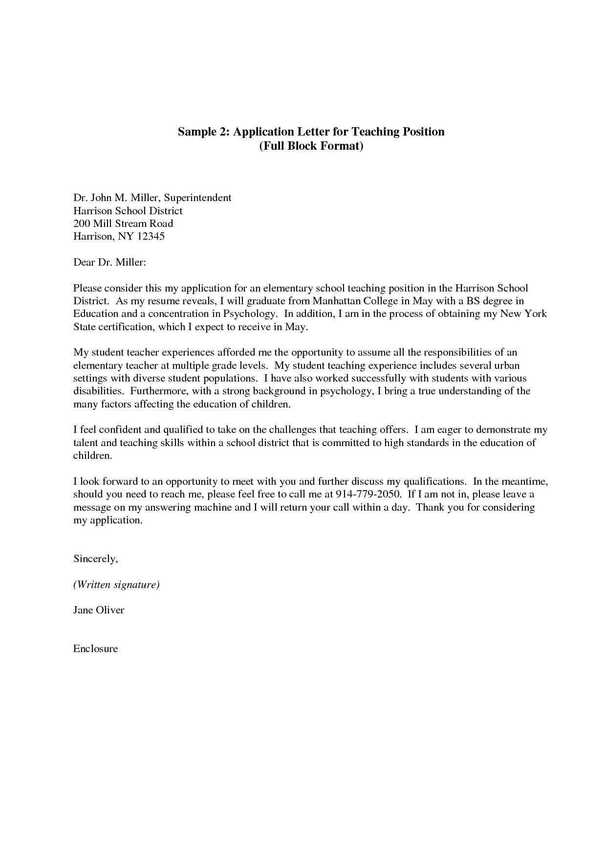 Cover Letter Worksheet For High School Students