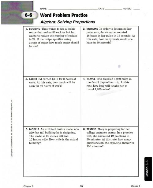small resolution of 6th Grade Fractions Word Problems Worksheet   Printable Worksheets and  Activities for Teachers