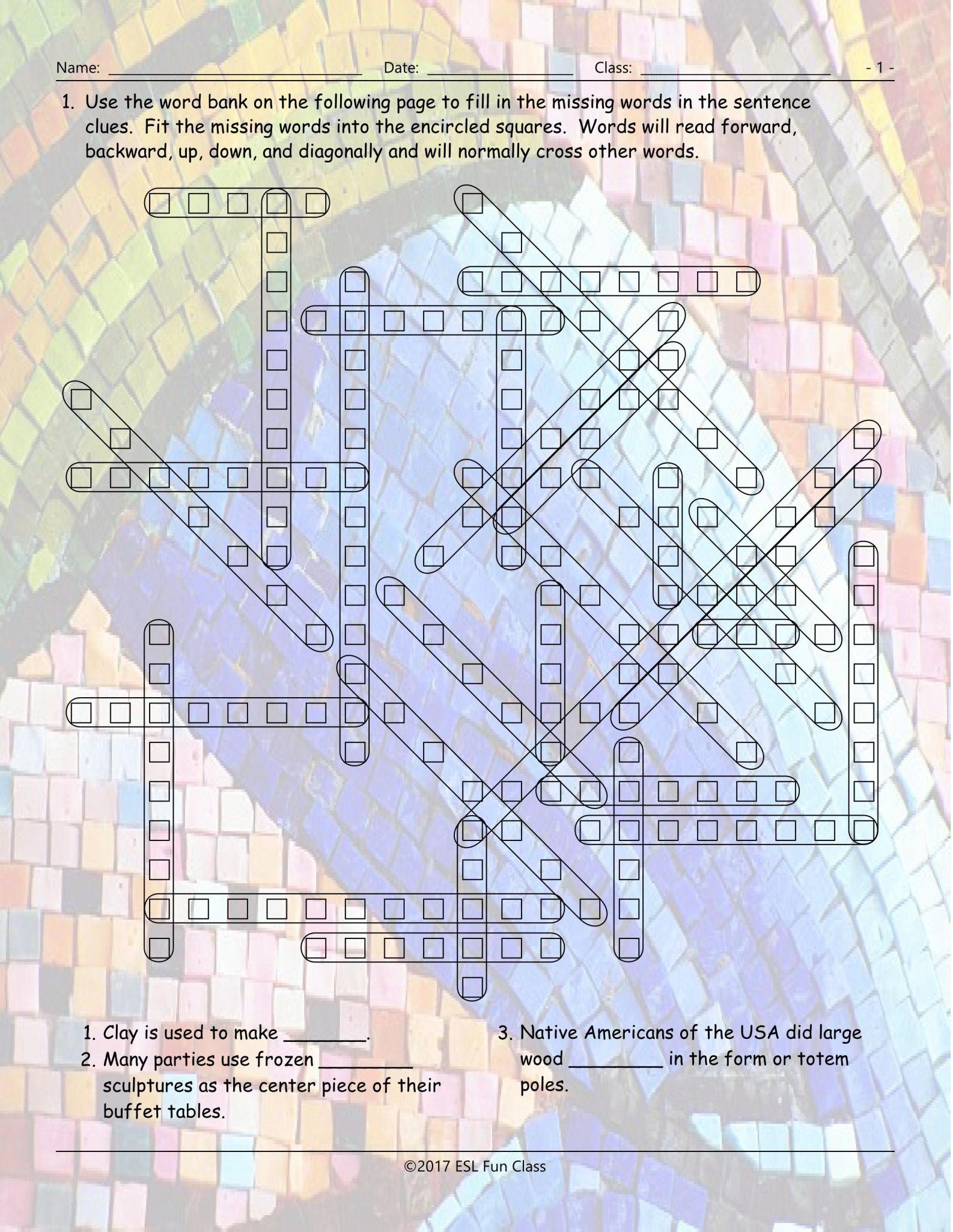 Esl Filling Out Forms Practice Worksheet