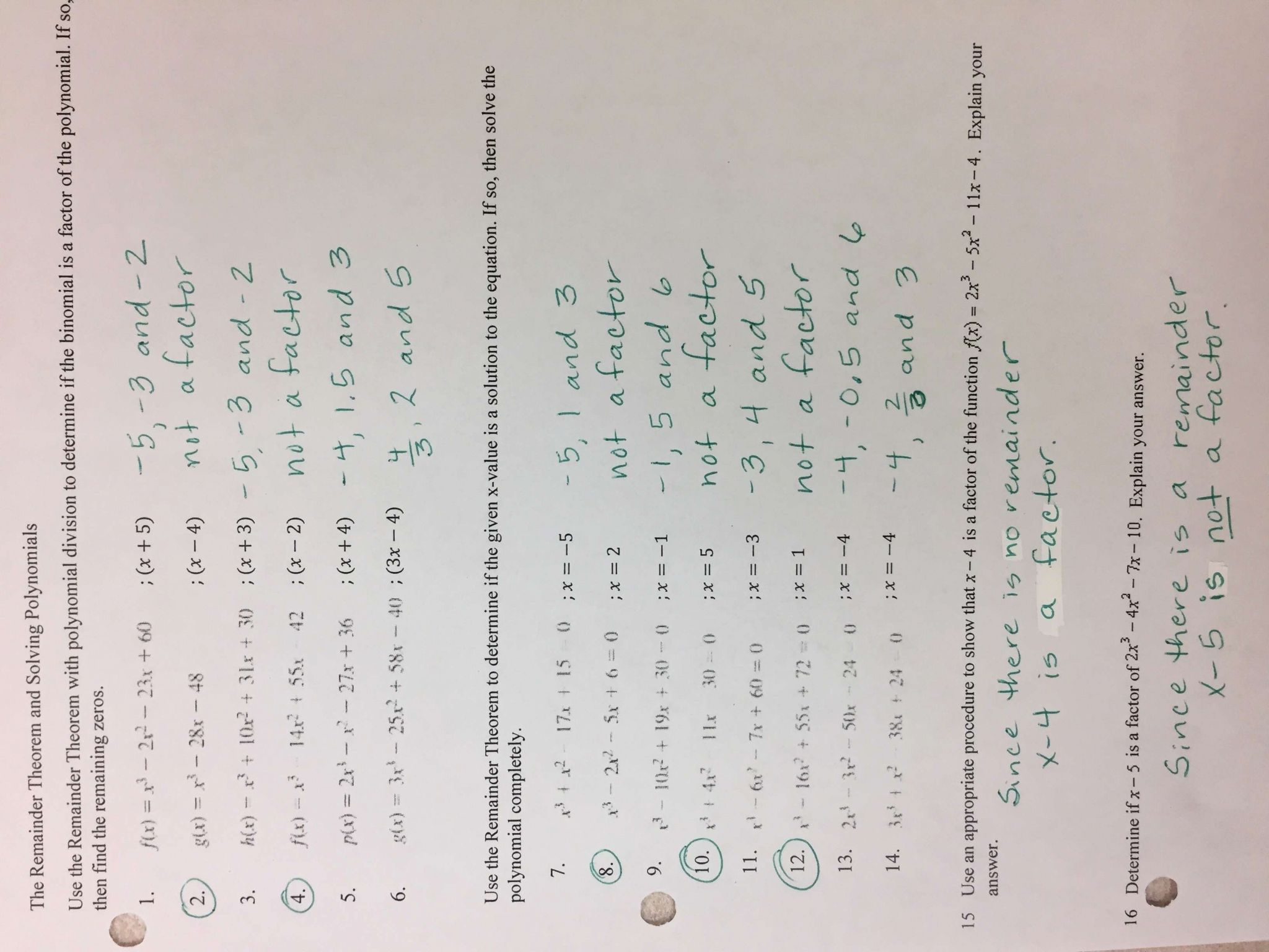Factoring Distributive Property Worksheet Answers